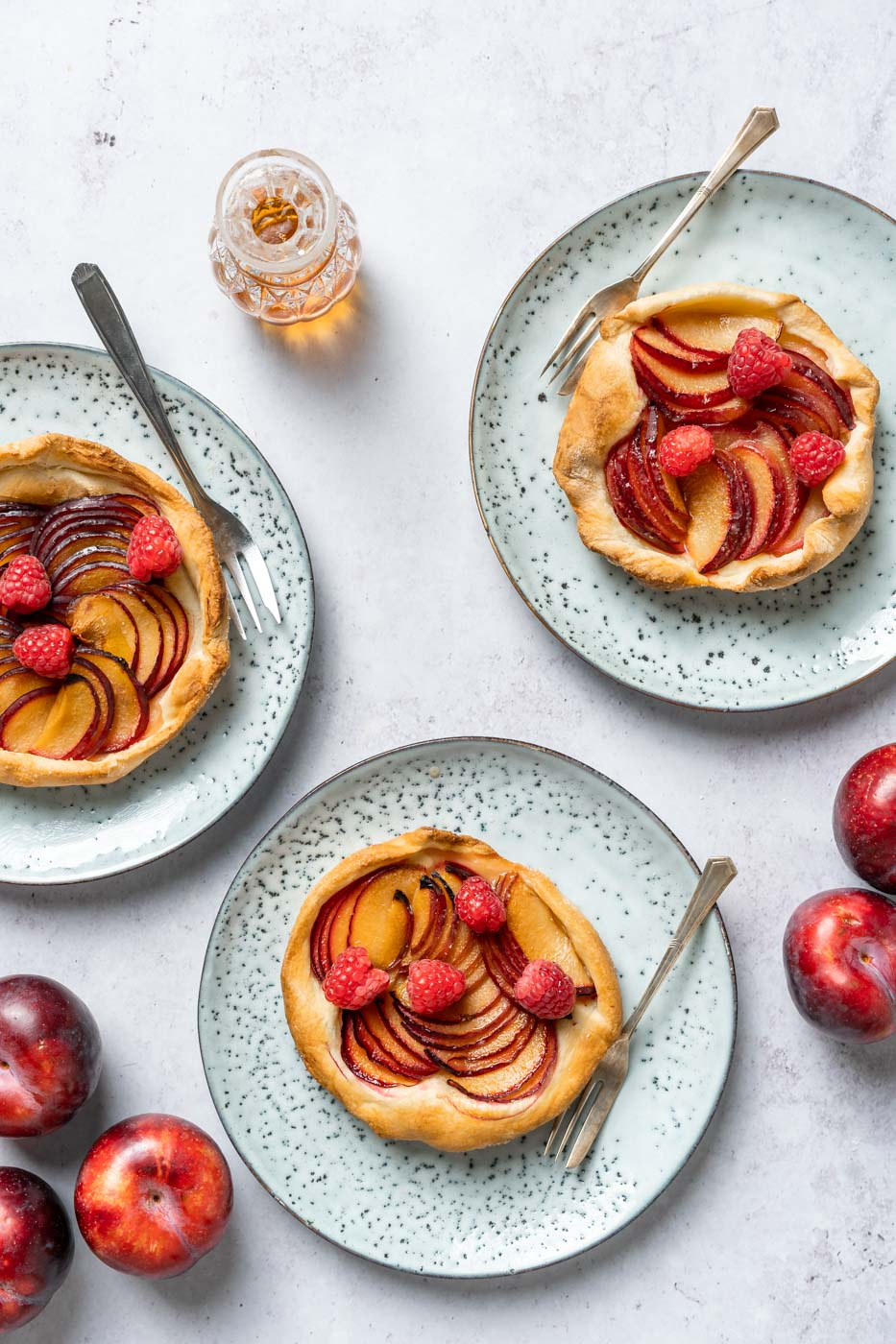 Plum Galettes, Food Photography Academy